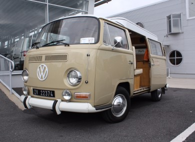 b4553a24463ae7 This iconic VW campervan is the closest you ll get to happiness on wheels