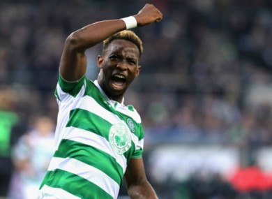 Moussa Dembele has impressed at Celtic this season.