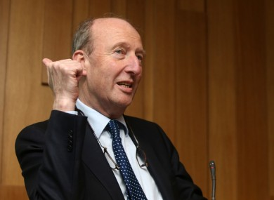 Transport Minister Shane Ross.