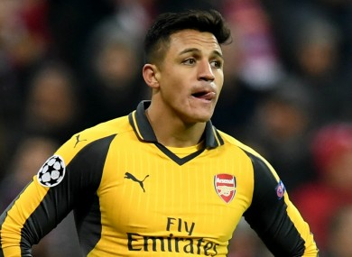 Alexis Sanchez has been linked with a move away from Arsenal in recent months.