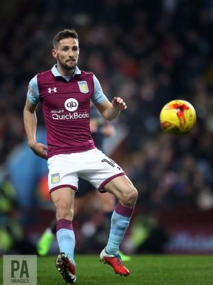 Aston Villa's Conor Hourihane.