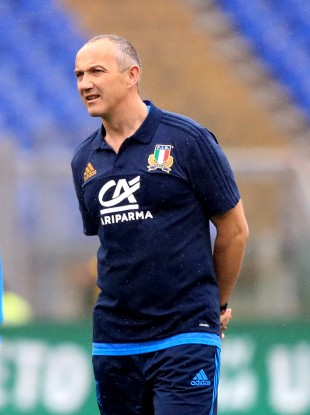 Conor O'Shea has made four changes to his side.