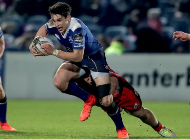 Joey Carbery has been awarded a senior contract with Leinster.