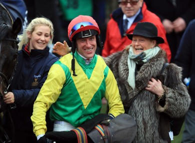 Robbie Power can't hide his delight after guiding Sizing John to Gold Cup glory.