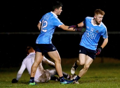 Aaron Byrne hit two goals for Dublin tonight.