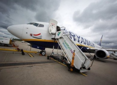 Man Who Slipped And Fell Down Ryanair Plane Stairs At Dublin Airport