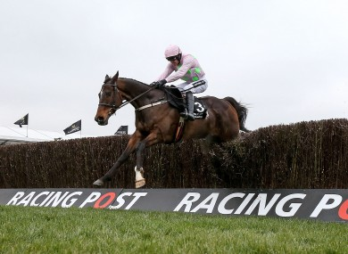 Douvan and Ruby Walsh won the Arkle last year.