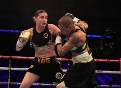 Taylor enjoyed a facile win over Monica Gentili earlier this month.