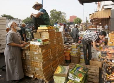 File photo of a market in Casablanca.