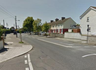 Harmonstown Road in Dublin