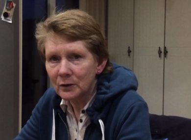 Catherine Corless speaking to TheJournal.ie from her home near Dunmore, Co Galway