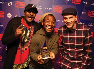 Rusangano Family beat off some tough competition to scoop the award last night.
