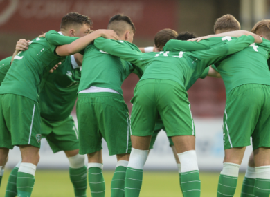 Ireland won all six games in qualification.
