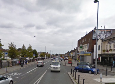 The incident occurred on Ballyfermot road