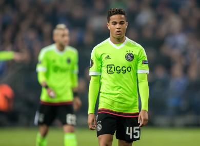 Justin Kluivert has impressed in his short Ajax career so far.
