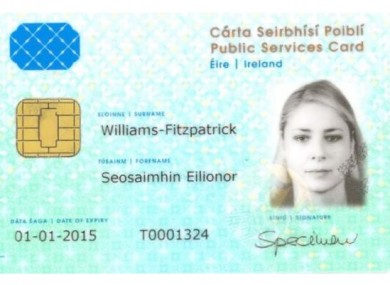 how to write application for identity card