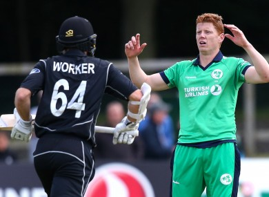 Kevin O'Brien finished with just one wicket.