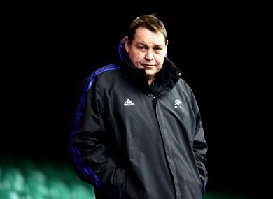 All Blacks coach Steve Hansen.