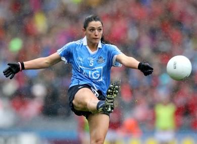 Dublin ladies footballer Sinead Goldrick.