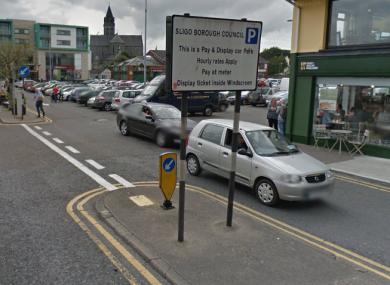 Wine Street in Sligo town.