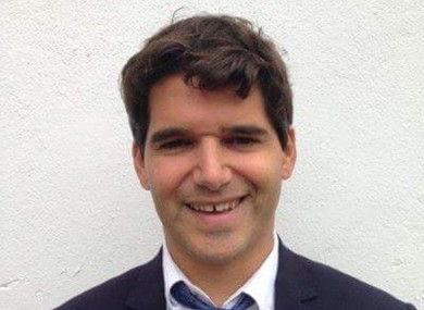 This image of 39-year-old Spanish banker Ignacio Echeverria was released by his sister Isabel Echeverria when her brother was reported missing following the attacks.