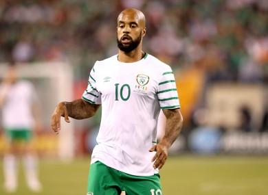 David McGoldrick played for Ireland against Mexico last Thursday.