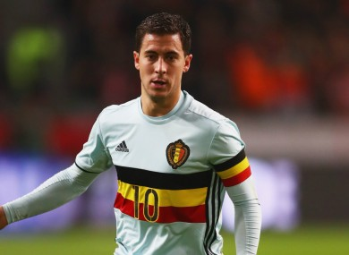 cd9c71d13 Chelsea's Eden Hazard fractures ankle on international duty · The42