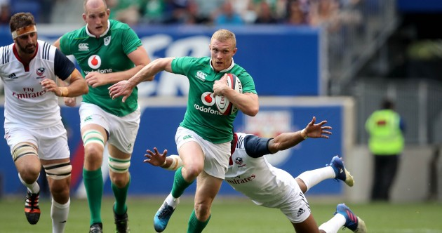As it happened: US Eagles v Ireland, summer tour