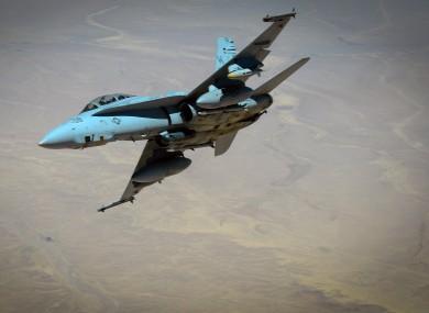 A US Super Hornet