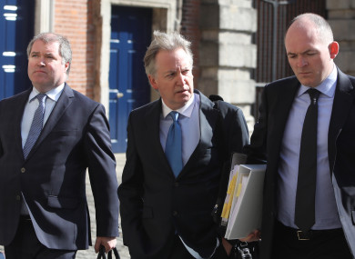 Disclosures Tribunal.Pictured (Centre) witness Crime Correspondent Paul Williams on day 10 of the public hearing at the Disclosures Tribunal in Dublin