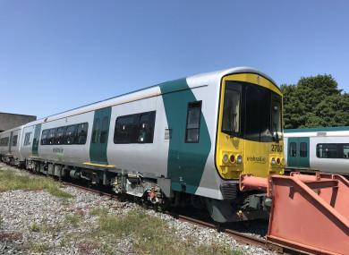 The 2,700 class railcar.
