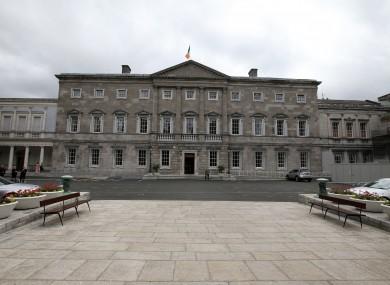 Leinster House, Kildare Street, Dublin.