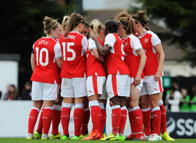 9090e1023 Arsenal to drop  Ladies  from name in  clear signal of togetherness and  unity