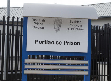 Portlaoise Prison is one of those where some prisoners still do not have flush toilets.