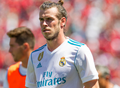 Gareth Bale could be surplus to requirements were Kylian Mbappé to arrive at Madrid.