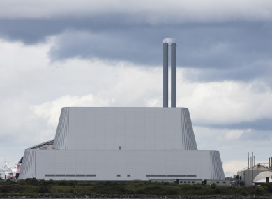 The incinerator is set to fire up again in the coming days.