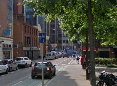 The altercation happened in a licensed premises just off Amelia Street.