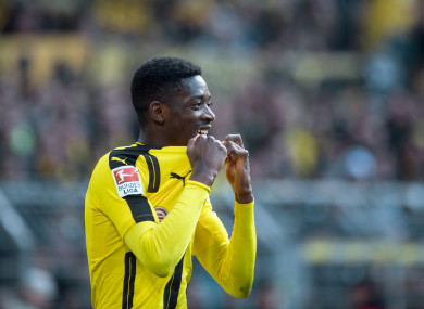 Dortmund want €150 million for Ousmane Dembele.