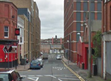 The Essex Street area in Birmingham.