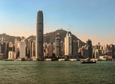 Hong Kong's famous skyline will be within reach for Irish travellers.