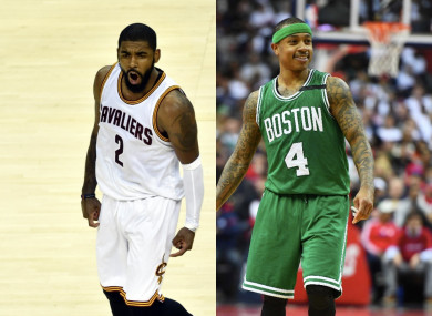 Massive NBA trade as Boston pick up superstar Kyrie Irving and send Isaiah  Thomas to Cleveland 39e0ecc9f