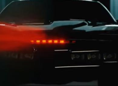 Self-driving car Kitt from Knight Rider.
