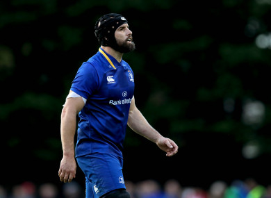 Fardy made his debut in last week's friendly win over Gloucester.