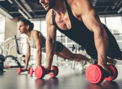 f7ff9a9f0 The four-in-one combo! Short and sharp workouts to do with little time and  equipment