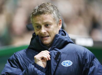 Ole Gunnar Solskjaer manages Molde's first team.
