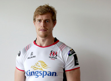 Trimble: Saturday's game will be his 221st for Ulster.