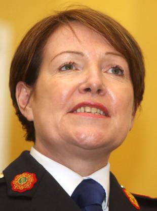 Former Garda Commissioner Nóirín O'Sullivan.