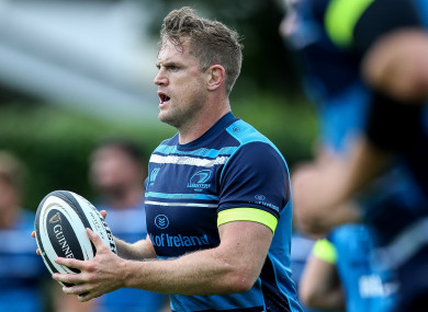 Heaslip suffered a relapse in training earlier this month.