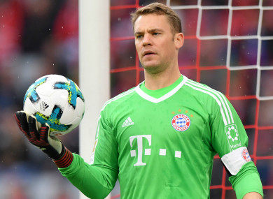 15a1e2080 Manuel Neuer. Manuel Neuer. BAYERN MUNICH HAVE confirmed goalkeeper ...