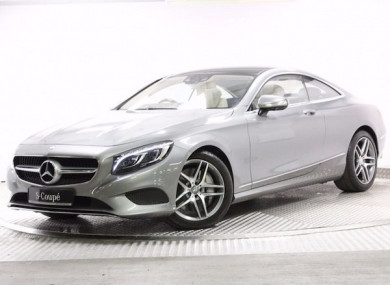 the mercedes benz s500 coupe is so luxurious it has crystal headlights thejournal ie